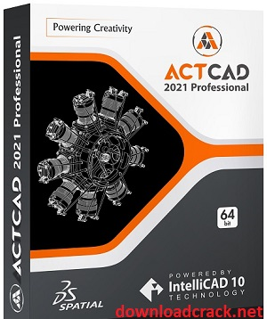 ActCAD Professional 10.0.1447 Crack With License Key Free Download