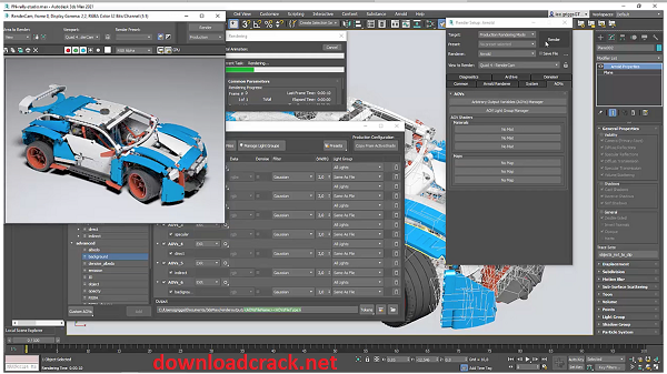 Autodesk 3ds Max 2022.0.1 Crack With Serial Key Free Download