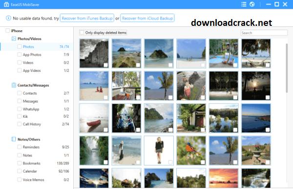 EaseUS MobiSaver 7.6 Crack With License Key Free Download