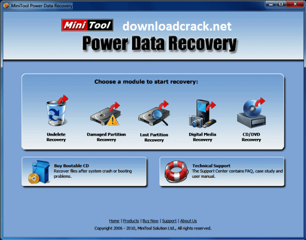 MiniTool Power Data Recovery 10.1 Crack With License Key 2022 Free