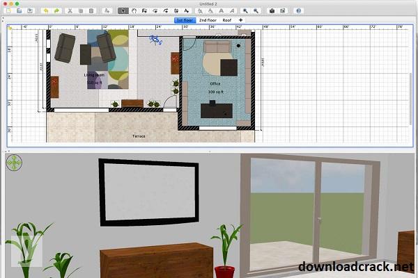 Sweet Home 3D 6.5.2 Crack 2021 Full Version Free Download
